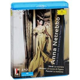 Anna Netrebko. Live From The Salzburg Festival (3 Blu-Ray)