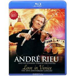 Andre Rieu. Love In Venice (Blu-ray)