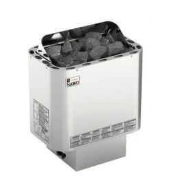 Серия Nordex: Электрическая печь SAWO NORDEX NR-90Ni2-Z (9,0 кВт, выносной пульт, внутри оцинковка, снаружи нержавейка)