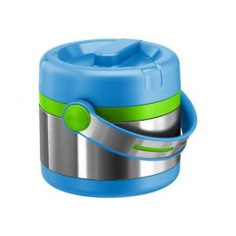 Термос для ланча 0,65 л Mobility Kids Emsa, голубой/зеленый