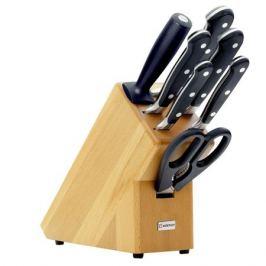 Набор из 5 кухонных ножей, ножниц, мусата и подставки WUSTHOF Classic (Золинген)