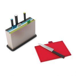 Набор разделочных досок с ножами Joseph Joseph Index™' with knives серебристый 60096