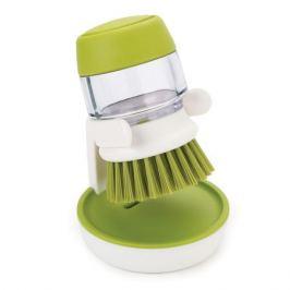 Щетка с дозатором моющего средства Joseph Joseph palm scrub™ зеленая 85004