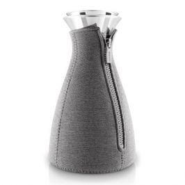 Кофейник cafe solo в неопреновом текстурном чехле 1 л темно-серый