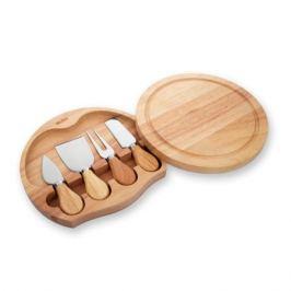 Набор ножей для сыра с разделочной доской, нержавеющая сталь, дерево, серия Kitchen Aids, 782750, IBILI, Испания