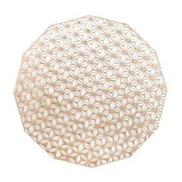 Салфетка подстановочная, диаметр 36 см, Pink Champagne, винил, серия Kaleidoscope, 100488-002, CHILEWICH, США