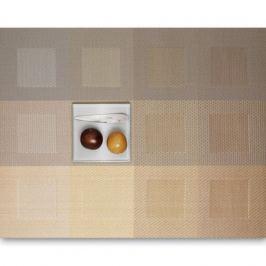 Салфетка подстановочная, винил, 36х48 см, серия Engineered squares, 0071-ENGS-GOLD, CHILEWICH, США