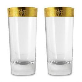 Набор стаканов для воды 468 мл, 2 штуки, серия Hommage Gold Classic, 120626-2, ZWIESEL 1872, Германия