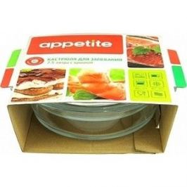 Кастрюля стеклянная 2.5 л с крышкой Mijotex Appetite (CR4)