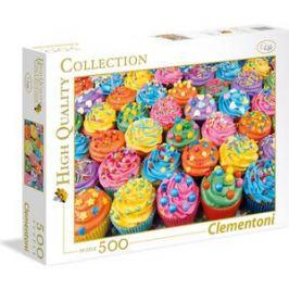 Пазл Clementoni Радужные капкейки 500 элементов
