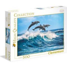 Пазл Clementoni Дельфины 500 элементов