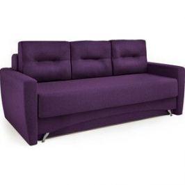 Диван-еврокнижка Шарм-Дизайн Опера 130 рогожка фиолетовый
