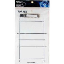 Тактическая доска для волейбола Torres TR1001V, белая