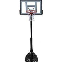Баскетбольная мобильная стойка DFC STAND44PVC1 110x75 см с винтовой регулировкой