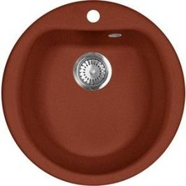 Кухонная мойка AquaGranitEx M-07 (334) красный марс