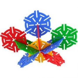 Конструктор Pilsan Magic Circles 60 деталей в пластиковой коробке (03-257)