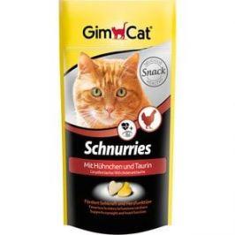 Витамины Gimborn Gimcat Schnurries With Ckicken and Taurine сердечки с курицей и таурином для кошек 650таб (409351)