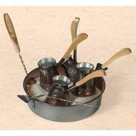 Турецкий набор для приготовления кофе Станица