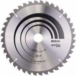 Диск пильный Bosch 254х30мм 40зубьев Optiline Wood (2.608.640.435)