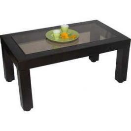 Стол журнальный Мебелик Сакура 3 эко-кожа/венге