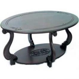 Стол журнальный Мебелик Овация (М) темно-коричневый