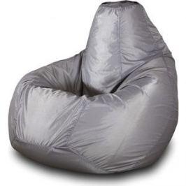 Кресло-мешок Груша Пазитифчик Бмо4 серый