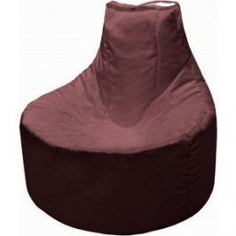 Кресло мешок Пазитифчик Бмо12 бордовый