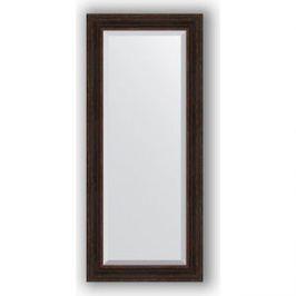 Зеркало с фацетом в багетной раме поворотное Evoform Exclusive 69x159 см, темный прованс 99 мм (BY 3577)