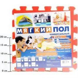 Мягкий пол Eco-cover универсальный 33х33 см Бабочки 9 деталей УТ000001757
