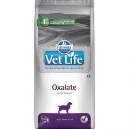 Сухой корм Farmina Vet Life Oxalate Canine диета при профилактики МКБ уратного, оксалатного и цистиного типа для собак 12кг