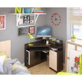 Компьютерный стол Атлант Интел 5 Бодега темный, Бодега светлый
