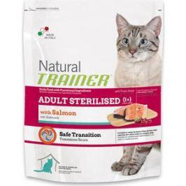 Сухой корм Trainer Natural Adult Sterilised Salmon с лососем для стерилизованных кошек 1,5кг