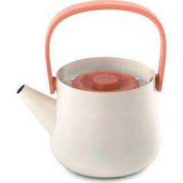 Чайник 2в1 для плиты и заварочный 1 л BergHOFF Ron белый (3900048)
