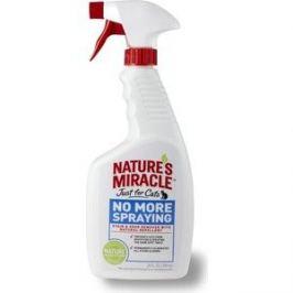 Спрей 8in1 Nature's Miracle No More Spraying антигадин для кошек 710мл