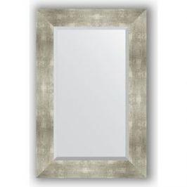 Зеркало с фацетом в багетной раме поворотное Evoform Exclusive 56x86 см, алюминий 90 мм (BY 1140)