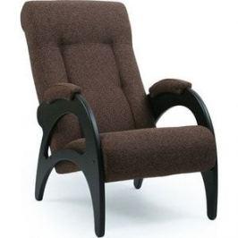 Кресло для отдыха Мебель Импэкс МИ Модель 41-венге б/л каркас венге, обивка Malta 15 А