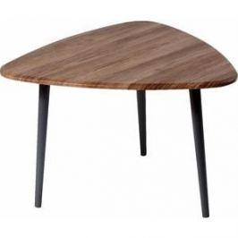 Стол журнальный Калифорния мебель Квинс грецкий орех