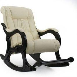 Кресло-качалка Мебель Импэкс МИ Модель 77 венге, обивка Polaris Beige
