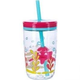Детский стакан для воды с трубочкой 0.47 л Contigo contigo0773 розовый