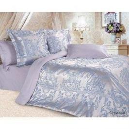Комплект постельного белья Ecotex Семейный, сатин-жаккард, Севилья (4680017869744)