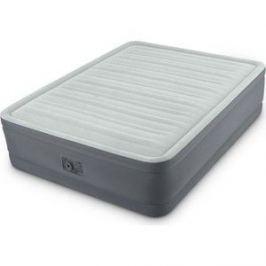 Надувная кровать Intex Premaire Elevated Airbed 152х203х46 см встроенный насос 220V (64906)