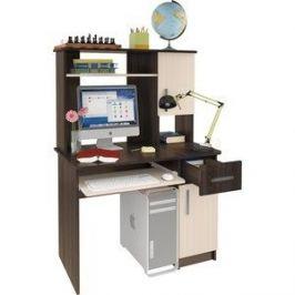 Компьютерный стол Атлант Интел 15 Бодега темный, бодега светлый