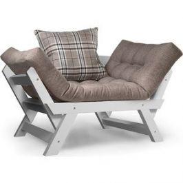 Кресло Anderson Отман эмаль-серая рогожка.