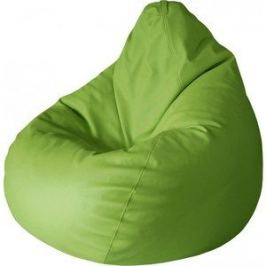Кресло-груша Папа Пуф Экокожа зеленый