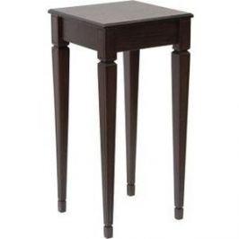 Подставка Мебелик Васко В 47Н темно-коричневый/патина