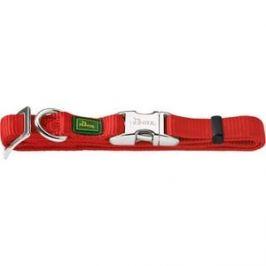 Ошейник Hunter Collar Vario Basic ALU-Strong L/25 (45-65см) нейлон с металлической застежкой красный для собак