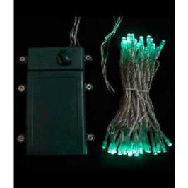 Гирлянда светодиодная Light Нить на батарейках 5 м аква 4,5V прозрачный провод