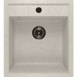 Кухонная мойка Mixline ML-GM28 44,5х50 белый 331 (4620031446538)