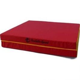 Мат PERFETTO SPORT № 10 (100 х 150 х 10) складной (1 сложение) красно-жёлтый