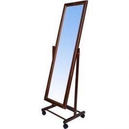 Зеркало напольное Мебелик В 27Н средне-коричневый